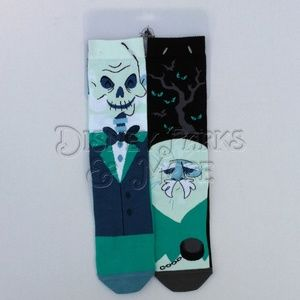 Disney Haunted Mansion Hitchhiking Ghosts Socks